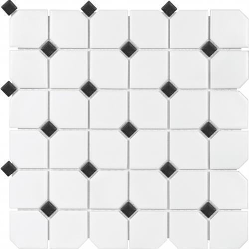 Wall Art/Floor Art Wall Art Matte W/White Dot-B 3X6