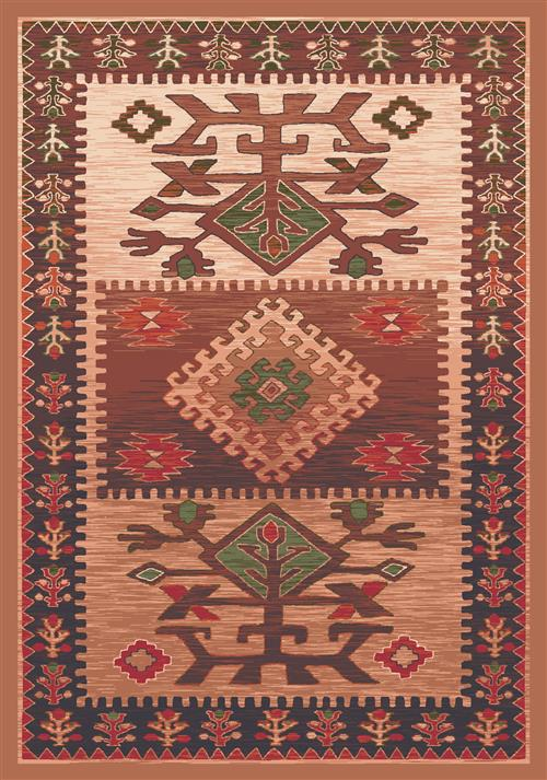 Ahvas-00345 Brown-Oval