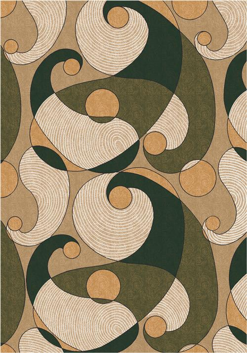 Remous-00077 Deep Olive-Oval