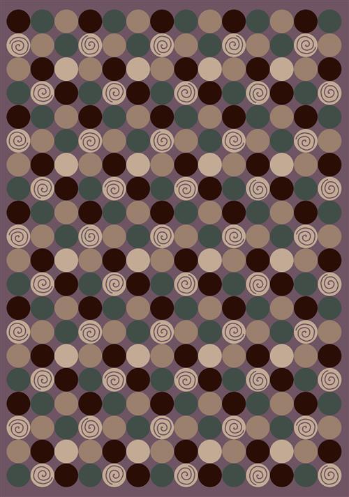 Da T Da Rug-07900 Amethyst