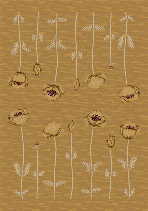 Poppy Rug-04300 Maize