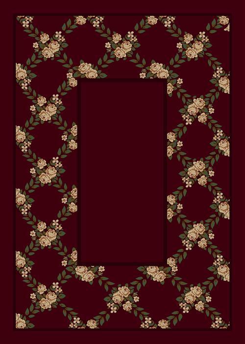 Rose Bower-10806 Cranberry II