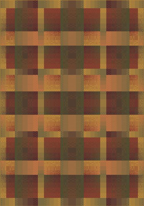 Aura-00624 Fall Orange-Oval
