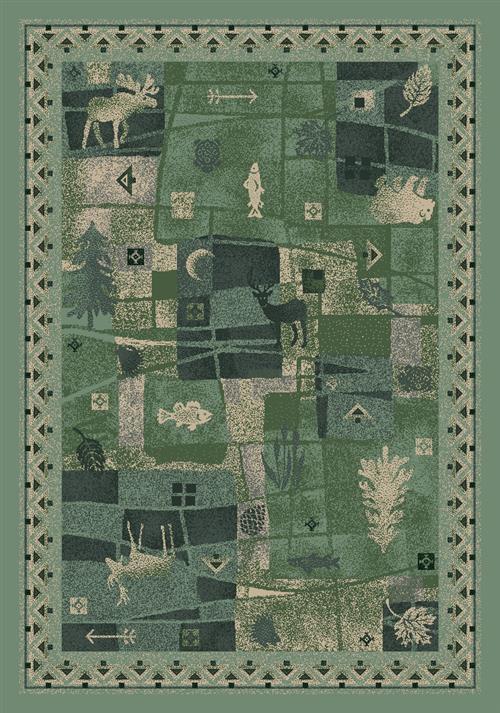 Deer Trail Rug-06000 Peridot
