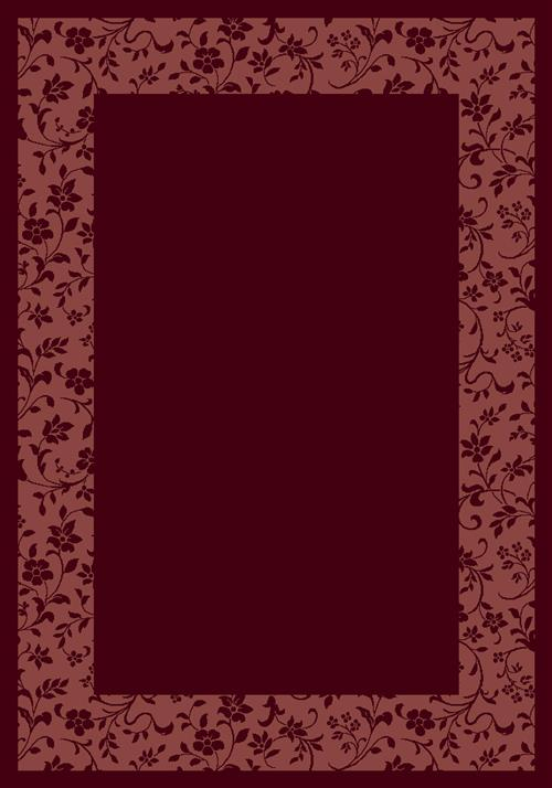 Brocade-10006 Garnet