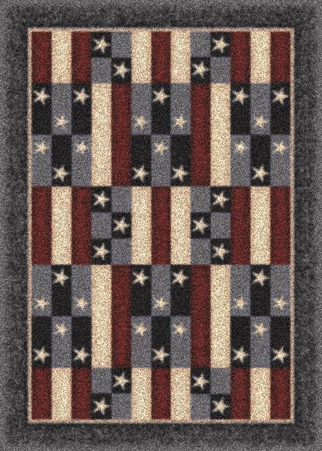 America Patchwork-07350 Denim
