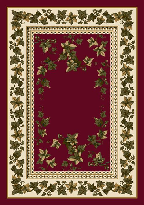 Ivy Valley Rug-08500 Brick