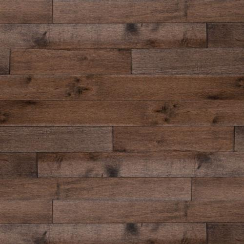 Essential Collection   Solid in Graphite   Red Oak 3.25 - Hardwood by Lauzon