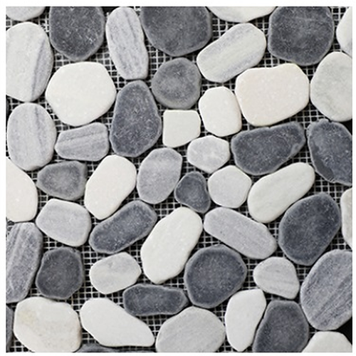 PEBBLES Products Black White Mix PEBBLWHSLICEDMO