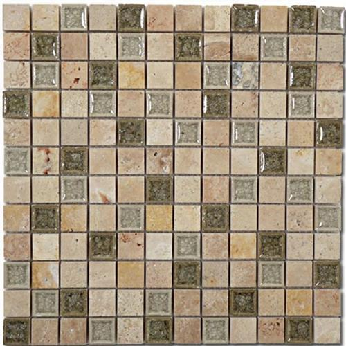 Tranquil - 1X1 Mosaics Olive Grove