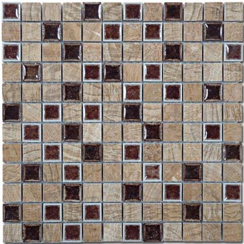 Tranquil - 1X1 Mosaics Bamboo Deck