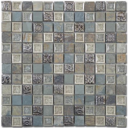 Tranquil - 1X1 Mosaics Methodical Grey
