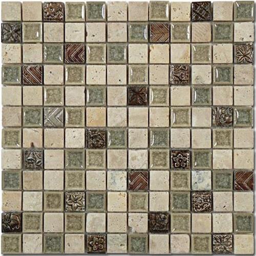 Tranquil - 1X1 Mosaics Methodical Sand
