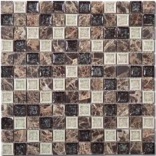 Tranquil - 1X1 Mosaics Chocolate Blend