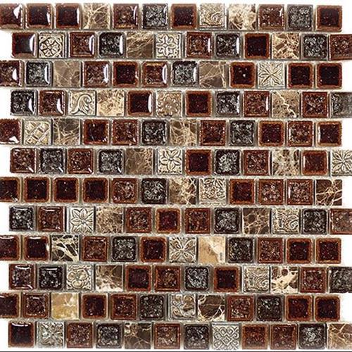 Tranquil - 1X1 Offset Mosaics Crocodile Road