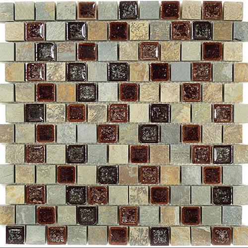 Tranquil - 1X1 Offset Mosaics Shallow Reef