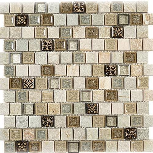 Tranquil X Offset Mosaics - Fiber flooring prices