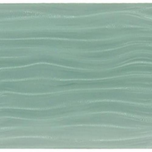Crystal Wave Gray Sky