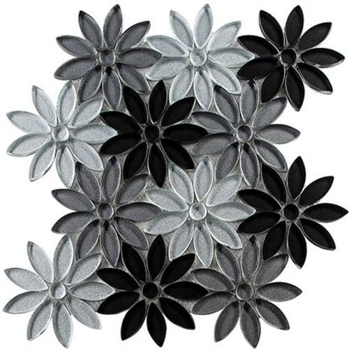 Bouquette Series Floral Greys BQT671