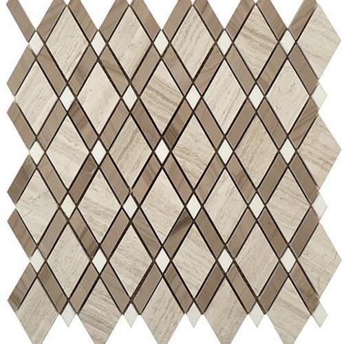 Diamond Wooden White  Athen Gray
