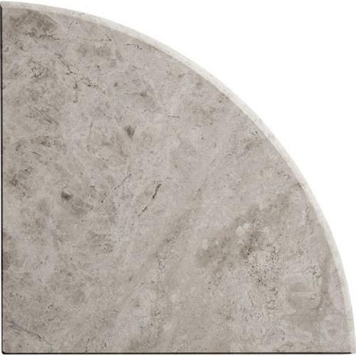 Natural Stone Corner Shelves Galaxy Gray Polished Marble