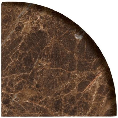 Natural Stone Corner Shelves Dark Emperador 18-601