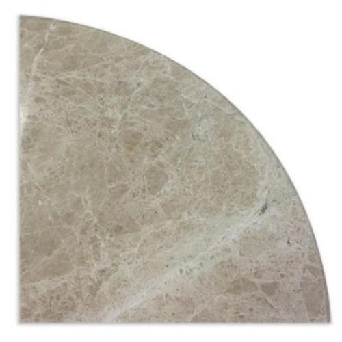 Natural Stone Corner Shelves Light Emperador