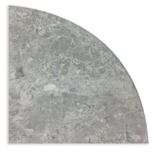 Natural Stone Corner Shelves Nordic Grey Polished