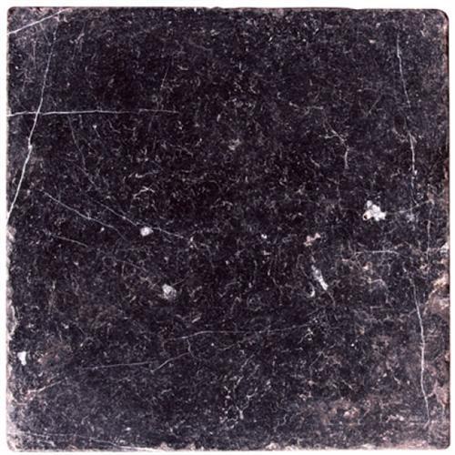 Natural Stone Tiles Toros Black Tumbled Marble
