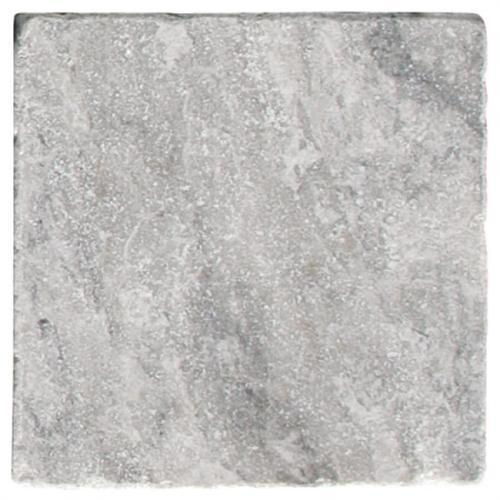 Natural Stone Tiles Silver Tumbled Marble