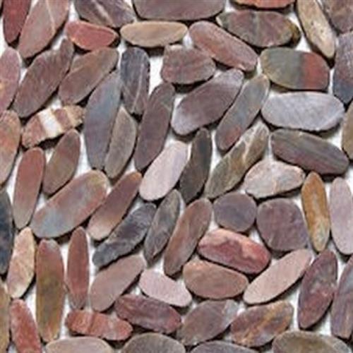 Sliced Pebble Mosaic Autumn