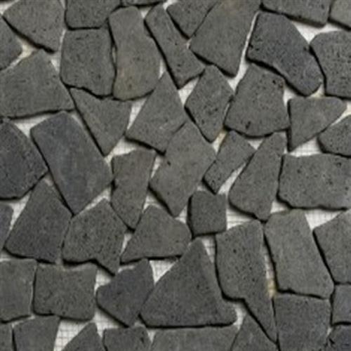 Flat Pebbles Mosaic