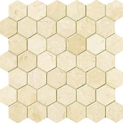 Modern Mythology Crema Marfil Hexagon