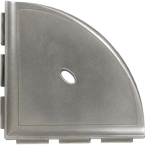 Corner Shelves Brushed Nickel