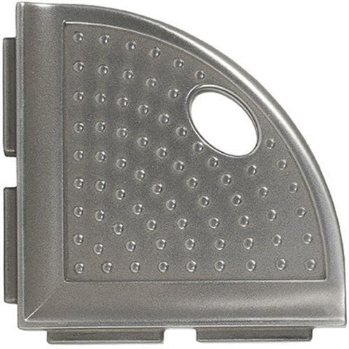 Shower Foot Rest Brushed Nickel