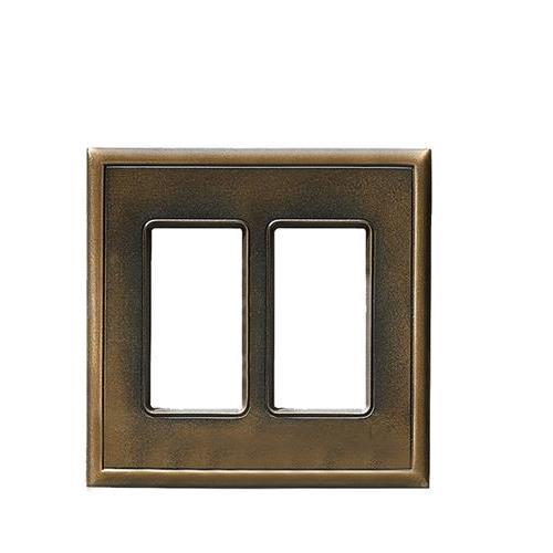 Switch Plates Antique Bronze