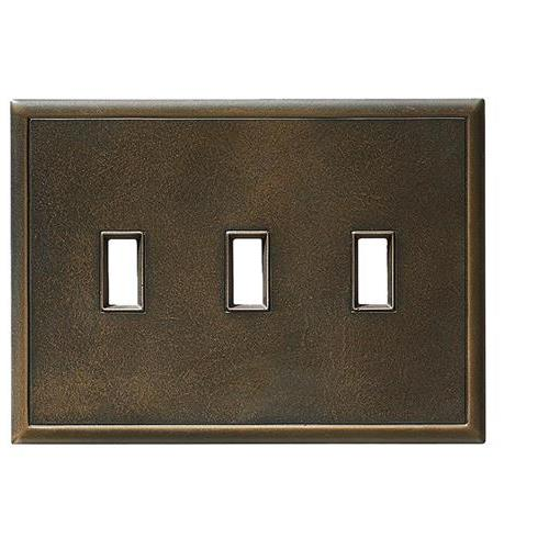 Switch Plates Antique Bronze