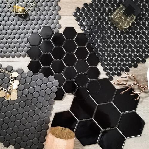 Black Vintage Series Mosaics
