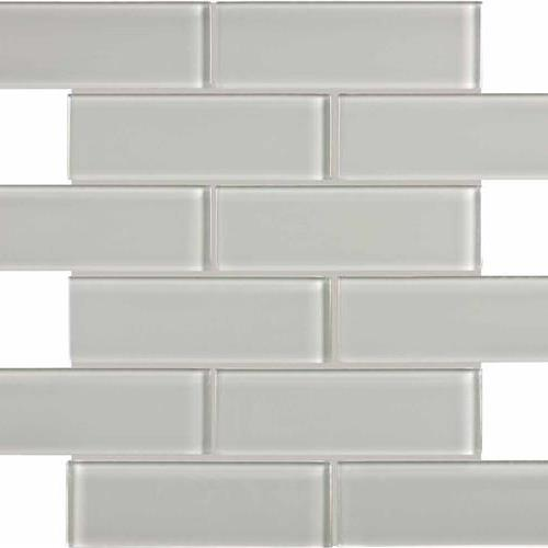Element Mist Brick Mosaic