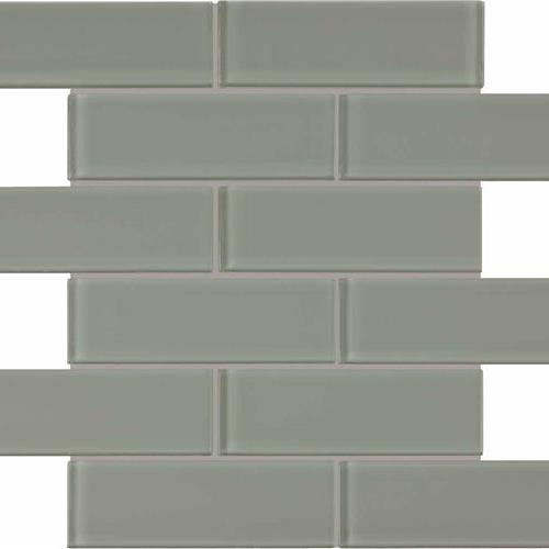 Element Smoke Brick Mosaic