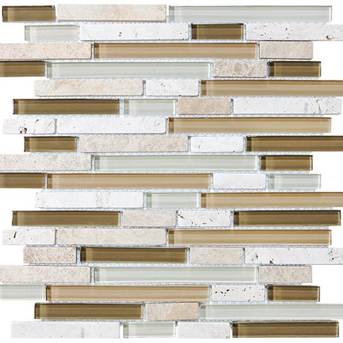 Bliss  Bamboo Linear Glass Stone Blend