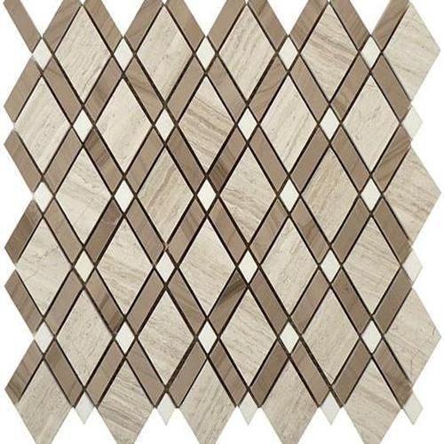 Diamond Series Wooden White