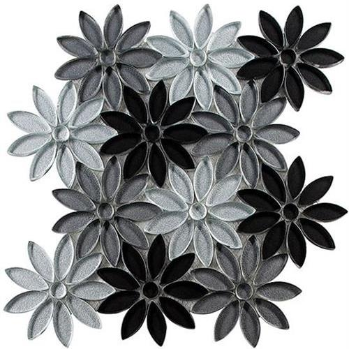 Bouquette Series Floral Greys