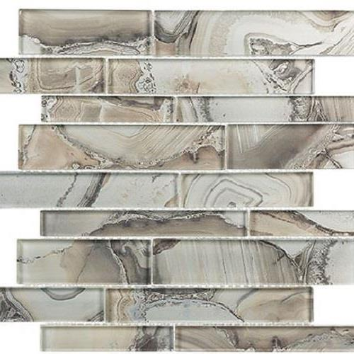 Glazzio Tiles Magical Forest Series Periwinkle Dust Glass