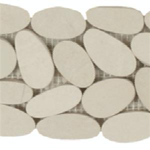 NaturalStone BotanyBayPebbles-SlicedBorders Q406 Cream