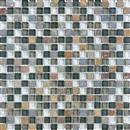GlassTile Bliss - Glass Slate/Quartz Smoky Mica  thumbnail #1