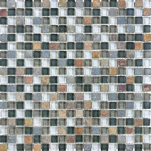 GlassTile Bliss - Glass Slate/Quartz Smoky Mica  main image