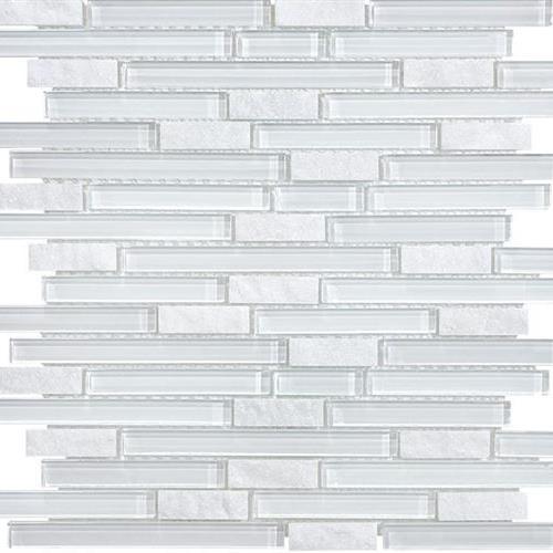GlassTile Bliss - Glass Slate/Quartz Norwegian Ice  main image
