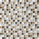 GlassTile Bliss - Glass Stone Bamboo  thumbnail #1