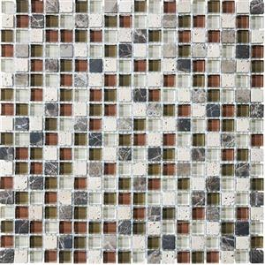 GlassTile Bliss-GlassStone 35-005 Cabernet